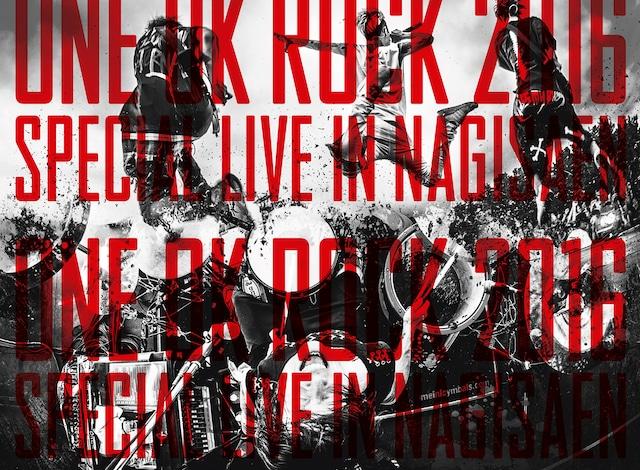 ONE OK ROCK「ONE OK ROCK 2016 SPECIAL LIVE IN NAGISAEN」ジャケット