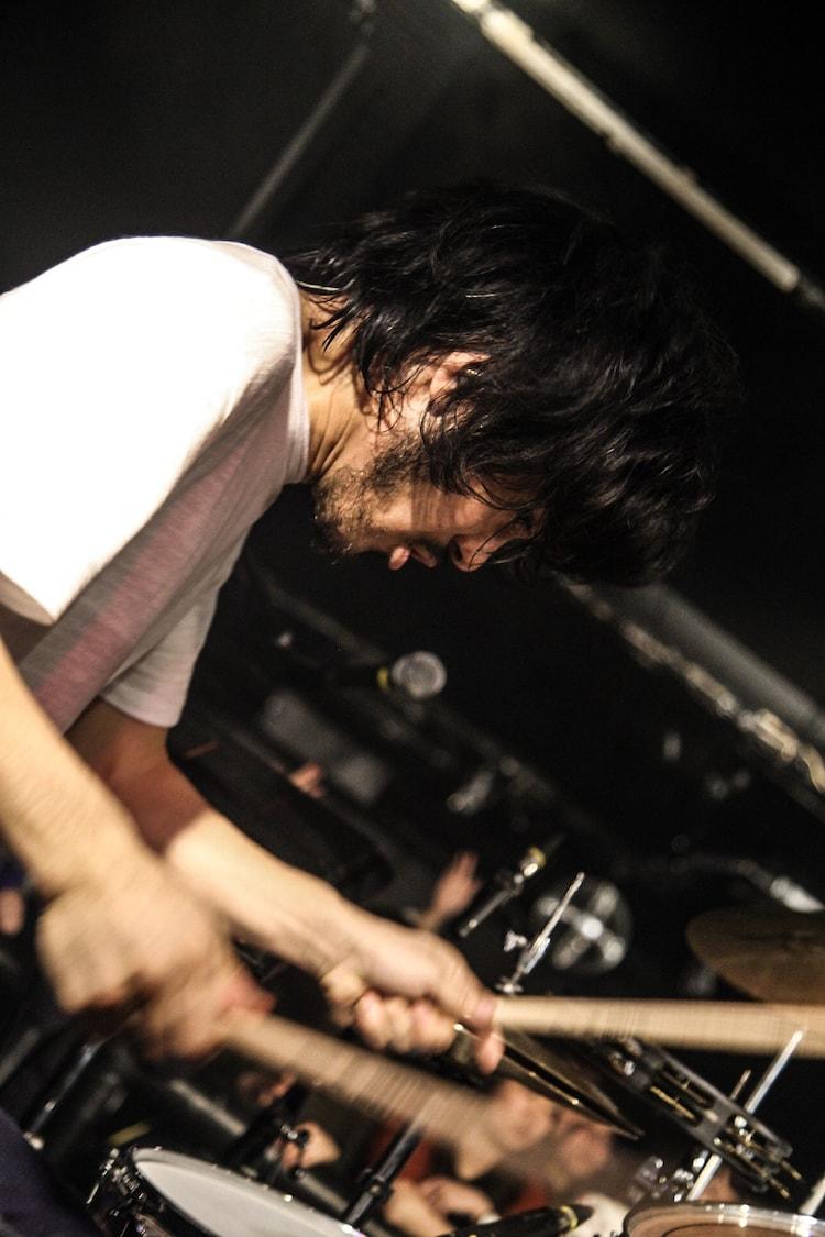 柿内宏介(Dr / Yap!!!)(Photo by  Takahiro Takinami)