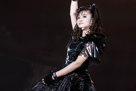MOAMETAL(Scream, Dance)(Photo by Taku Fujii)