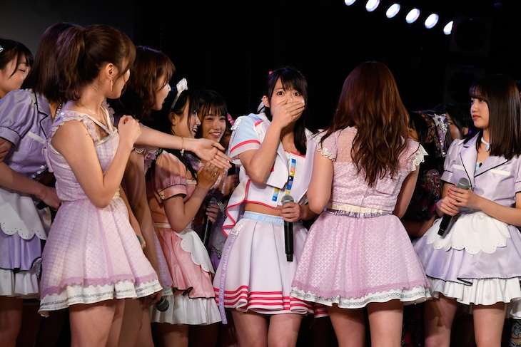 「AKB48劇場12周年特別記念公演」の様子。(c)AKS