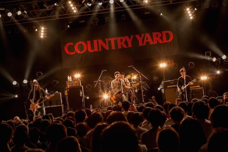 "「COUNTRY YARD presents TOUR 2017 -THIS IS COUNTRY YARD- TOUR FINAL ONEMAN」の様子。(Photo by Takashi ""TAKA"" Konuma)"