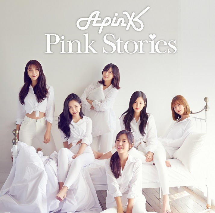 Apink「Pink Stories」完全生産限定盤Aジャケット