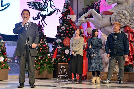 左から伊集院光、倉田真由美、大森靖子、吉田豪。
