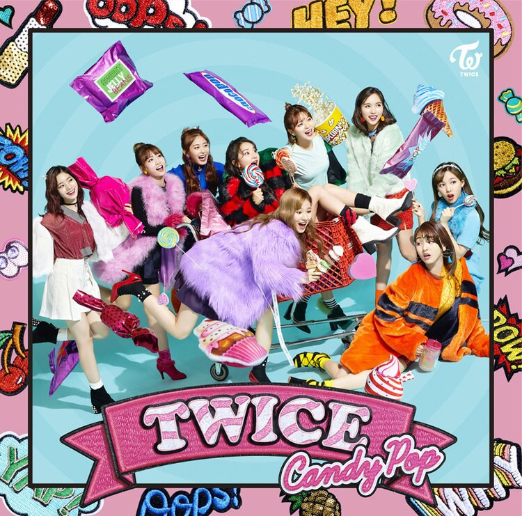 TWICE「Candy Pop」ONCE JAPAN限定盤ジャケット