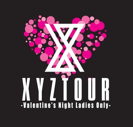 「XYZ TOUR 2018 -Valentine's Night Ladies Only-」ロゴ