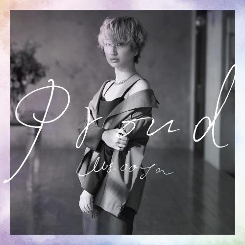 Ms.OOJA「PROUD」初回限定盤ジャケット