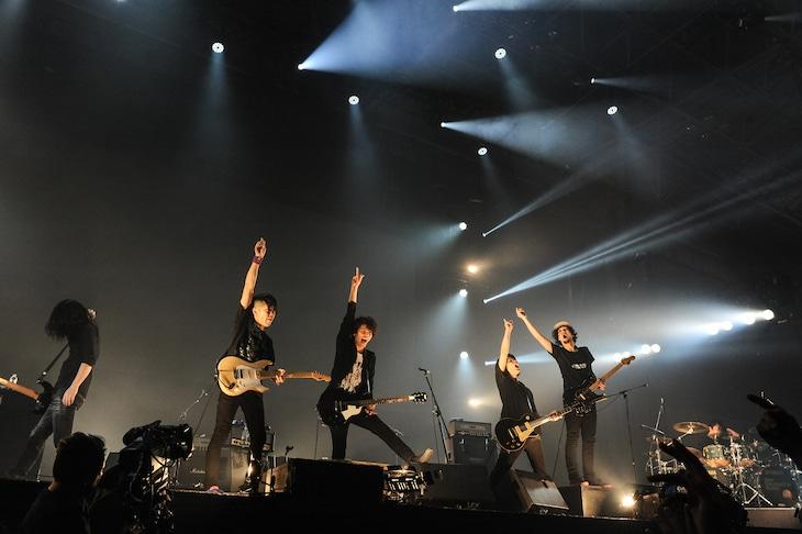 「COUNTDOWN JAPAN 17/18」に出演した9mm Parabellum Bullet。