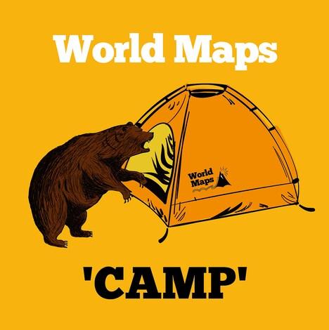 World Maps「CAMP」ジャケット