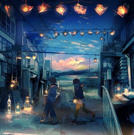Eve×Sou「蒼」初回限定盤ジャケット