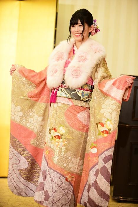岡田美紅。1月8日に東京・神田明神で行われた、AKB48グループの新成人メンバーによる成人式の様子。