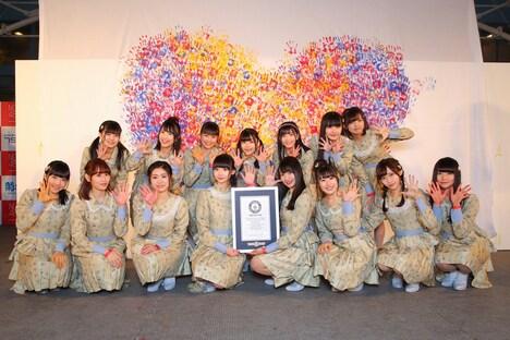 今年1月に行われたNGT48劇場オープン2周年記念イベントの様子。(c)AKS