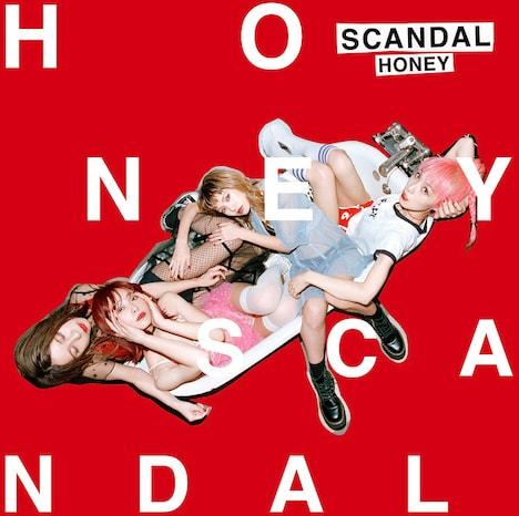 SCANDAL「HONEY」初回限定盤ジャケット