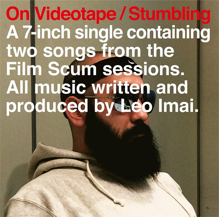LEO今井「On Videotape / Stumbling」ジャケット