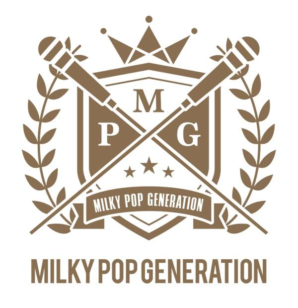 Milky Pop Generationロゴ (c)MilkyPopGeneration