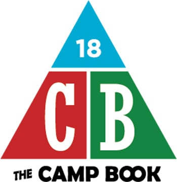 「THE CAMP BOOK 2018」ロゴ