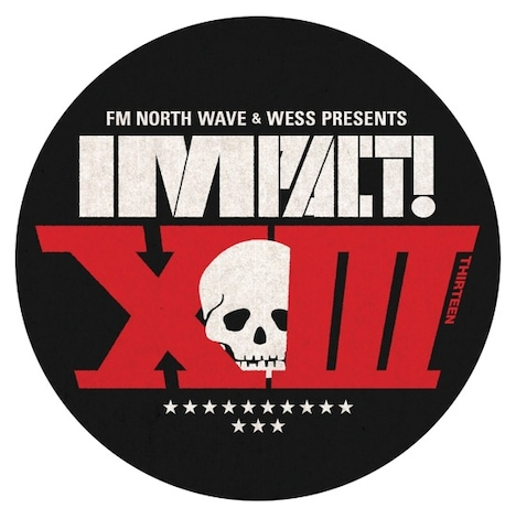 「FM NORTH WAVE & WESS presents IMPACT!XIII supported by アルキタ」ロゴ