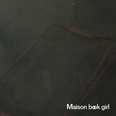 Maison book girl「KARMA (UK Version)」アナログ7inchのジャケット。
