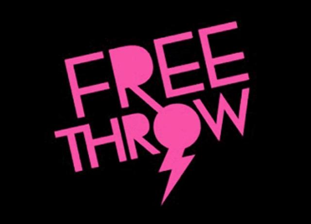 FREE THROWロゴ