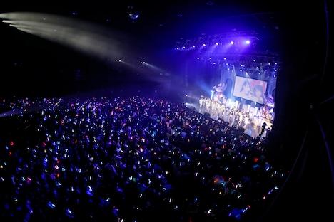 ラストアイドルファミリーファーストコンサート 東京・Zepp Tokyo公演の様子。(写真提供:Virgin Music)