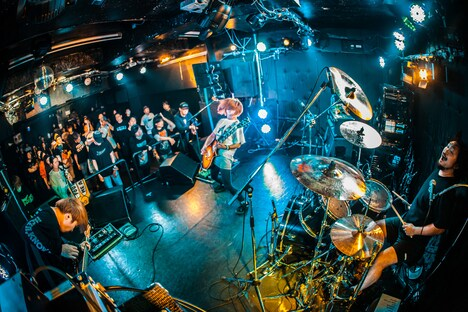 FOUR GET ME A NOTS(Photo by Shin Ishihara)