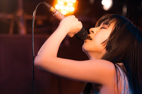 Sachiko(Vo / monographic)(Photo by Shin Ishihara)