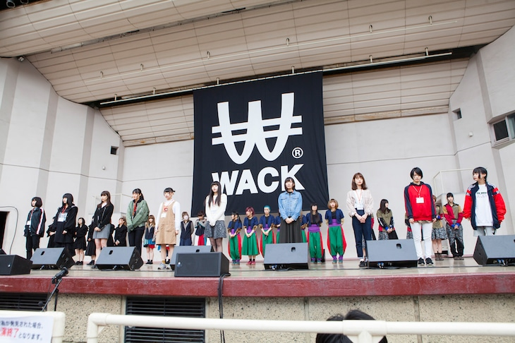 「WACK EXHiBiTiON」の様子。