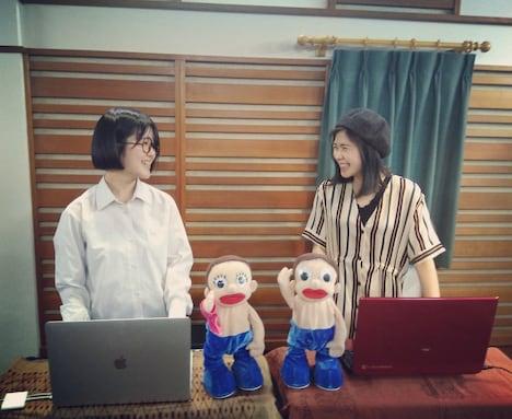 左から「西中島きなこ」新メンバーのわたなべひかる、瀬戸千明。