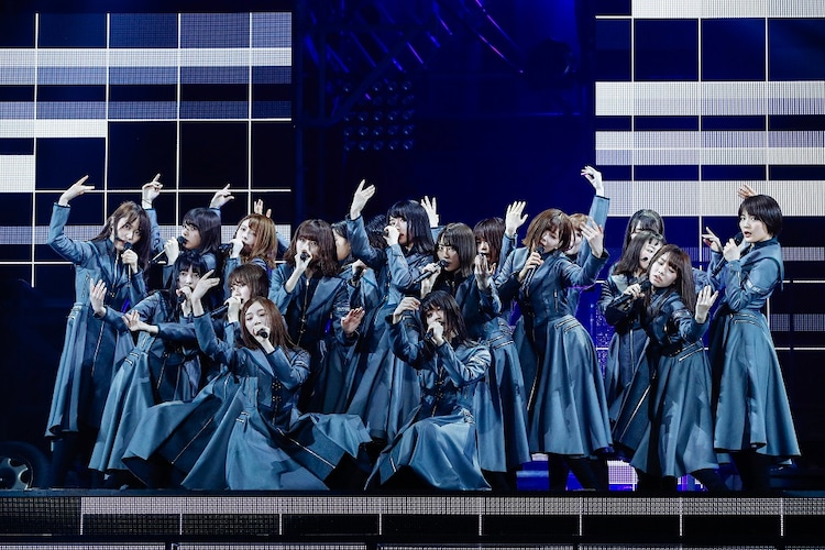 「欅坂46 2nd YEAR ANNIVERSARY LIVE」4月8日公演の様子。(撮影:上山陽介)