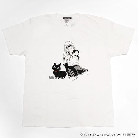 ポルカドットスティングレイ×パスピエ コラボTシャツ 表デザイン