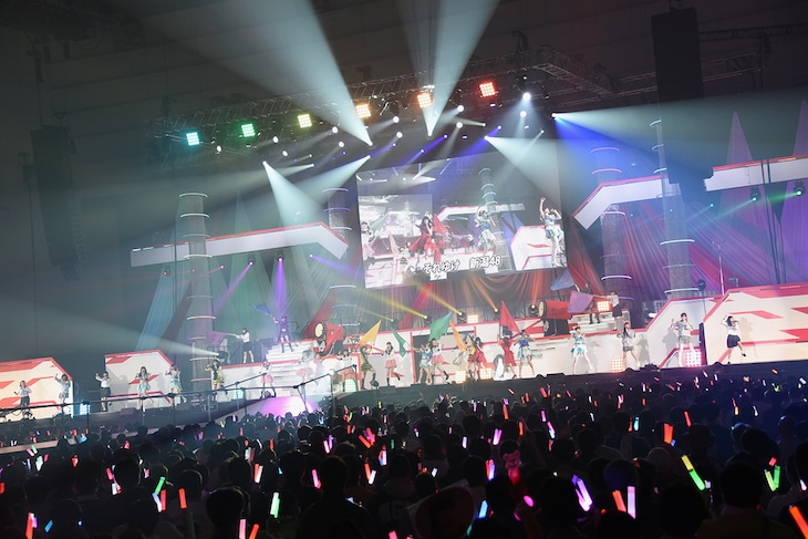 「NGT48 単独コンサート~朱鷺は来た!新潟から全国へ!~」の様子。
