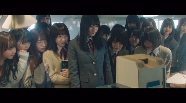 乃木坂46「新しい世界」ミュージックビデオのワンシーン。