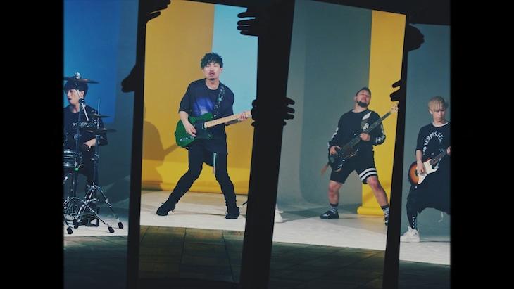 Rhythmic Toy World「さなぎ[想像力の最前線ver.]」ミュージックビデオのワンシーン。