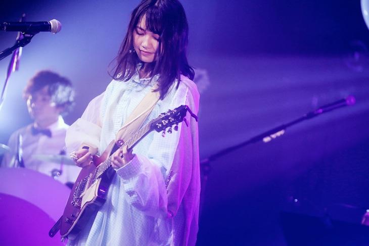 井上苑子「Inoue Sonoko Spring Rock!! Tour 2018~エレキで駆け抜けるで!!~」東京・EX THEATER ROPPONGI公演の様子。