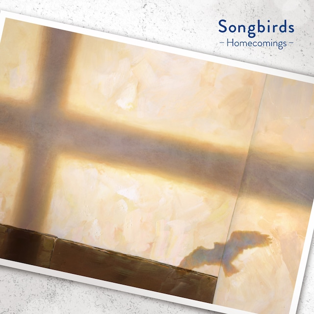 Homecomings「SONGBIRDS」CD盤ジャケット