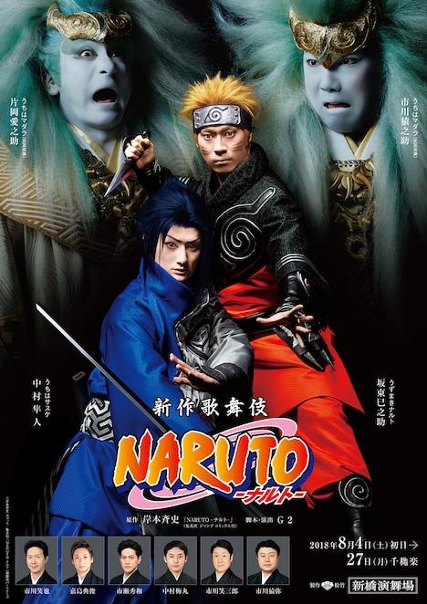 新作歌舞伎「NARUTO-ナルト-」キービジュアル