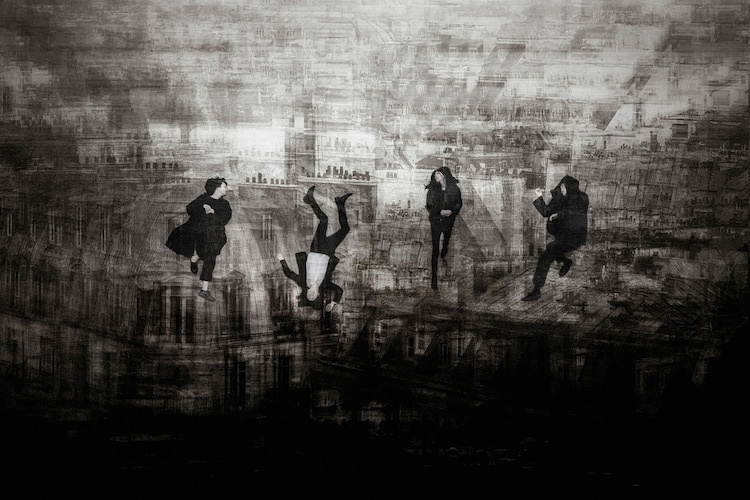 THE NOVEMBERS(Photo by Atsuki Umeda)