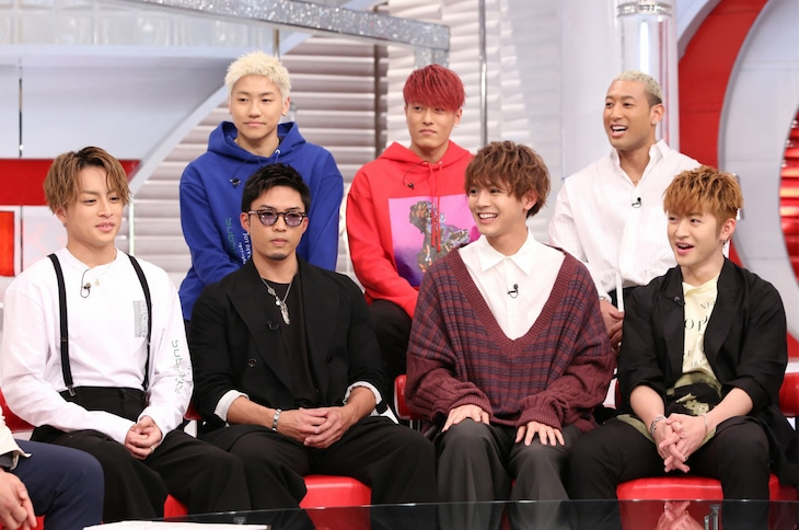GENERATIONS from EXILE TRIBE (c)日本テレビ