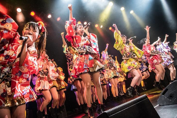 アイドルカレッジ「アイカレボリューション2018 革命的な春の東名阪ツアー」東京・WWW X公演の様子。(撮影:古川朋久)