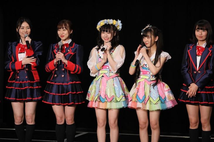 SKE48の23rdシングルリリースが発表されたチームE「SKEフェスティバル」公演の様子。 (c)AKS