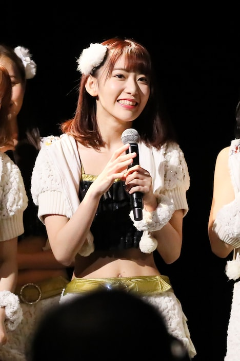 「AKB48 53rdシングル 世界選抜総選挙」速報3位を獲得した宮脇咲良(HKT48 チームKIV)。(c)AKS