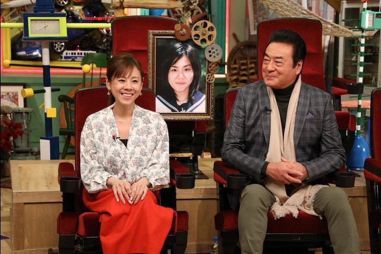 左から高橋真麻、高橋英樹。(c)テレビ朝日