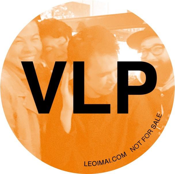 LEO今井「VLP」amazon.co.jp購入特典のオリジナル缶バッジ。