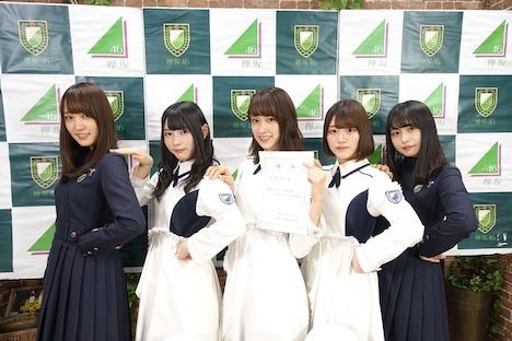 SHOWROOM「けやき坂46 ツアー2018開幕直前緊急特番!そして、、?」の様子。