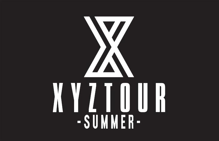 「XYZ TOUR 2018 -SUMMER-」ロゴ