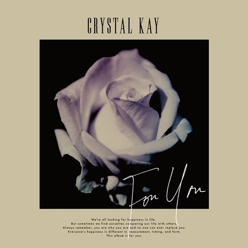 Crystal Kay「For You」通常盤ジャケット