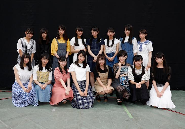 STU48の2ndシングル(タイトル未定)の選抜メンバー。(c)STU