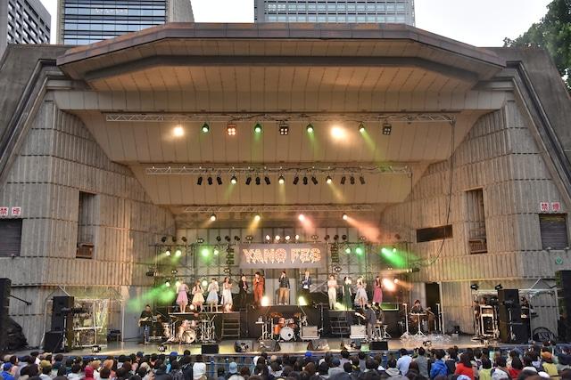 「YANO MUSIC FESTIVAL 2018 ~YAONのYANO Fes~」オープニングの様子。
