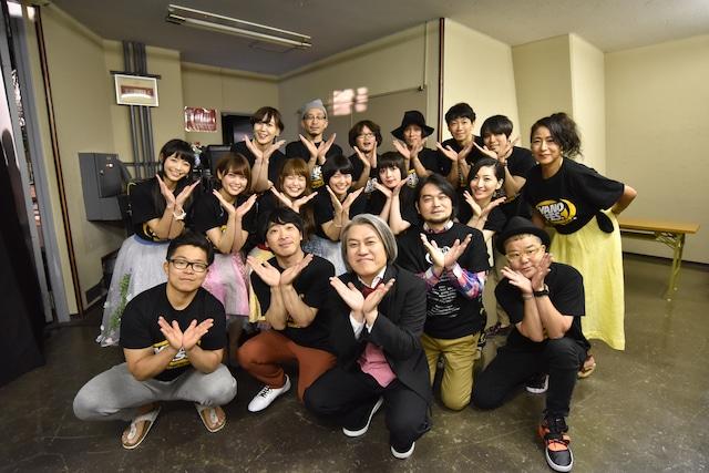 「YANO MUSIC FESTIVAL 2018 ~YAONのYANO Fes~」終演直後の出演者たち。