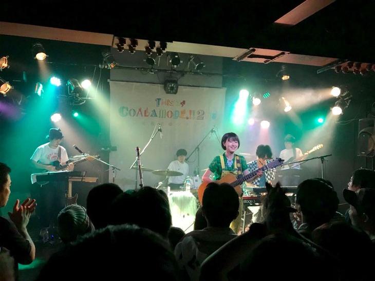 """「コアラモード.全国ツアー """"THIS IS COALAMODE.!!2018 ~街風泥棒ツアー~""""」福岡・Early Believers公演の様子。"""