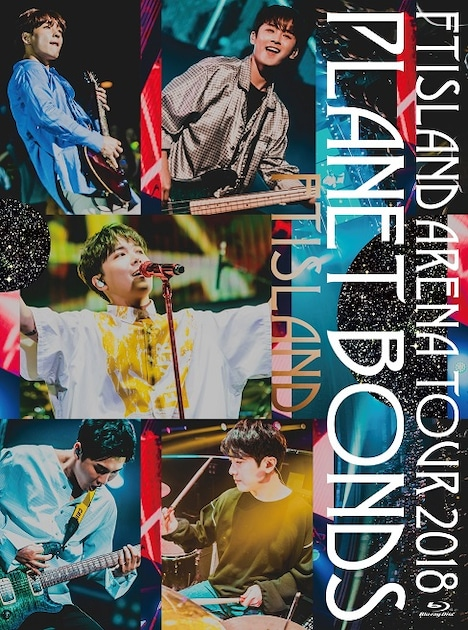 FTISLAND「FTISLAND Arena Tour 2018 -PLANET BONDS- at NIPPON BUDOKAN」Blu-rayPrimadonna盤ジャケット